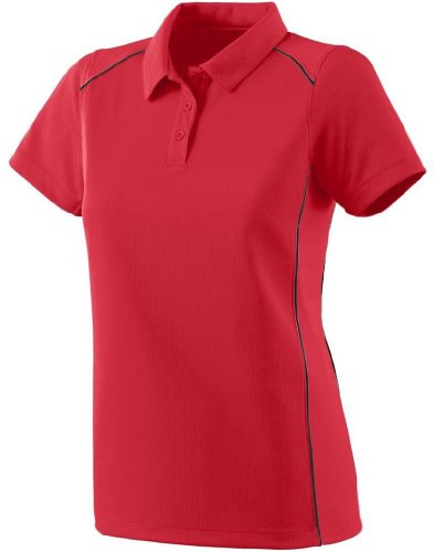 Augusta -  Polo  - Donna Red/black