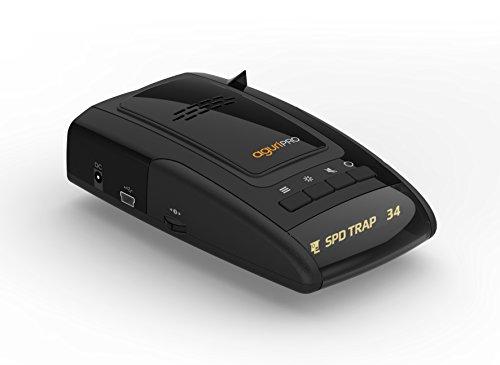 Aguri Skyway Pro GTX60 (Deutsche Version) 3 in 1 Radarwarner & Laserwarner mit GPS & POI Warnung
