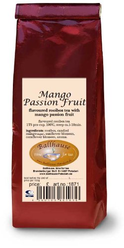 Mango-Maracuja-Rooibosteemischung