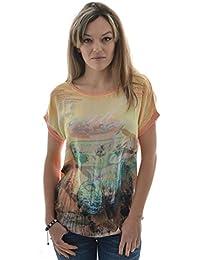 tee shirt b.young 801285 - caliente jaune