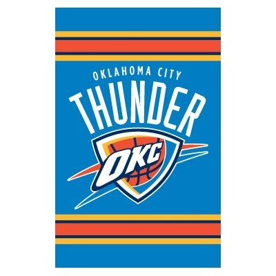 Party Animal Oklahoma City Thunder Applikation, Banner-Flagge (Party City Banner)