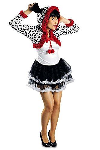 Für Dalmatiner Erwachsene Kostüm Niedliche - Körner Festartikel Dalmatiner Kostüm für Damen Gr. 40 42