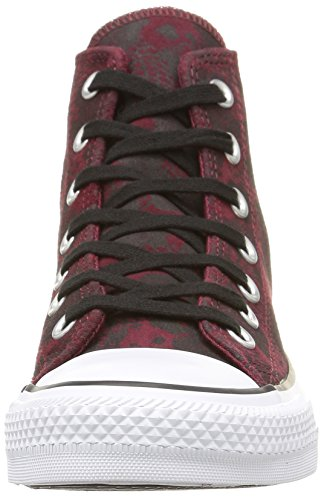 Hohe Unisex Ctas noir Converse Hi Sneakers Rot Animal Erwachsene bordeaux qOaOwXt