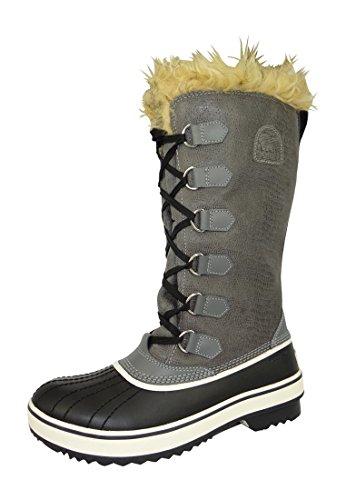 Stivali invernali LL1864-035 ARCTIC TIVOLI ALTA Peltro grigio delle donne Sorel Pewter