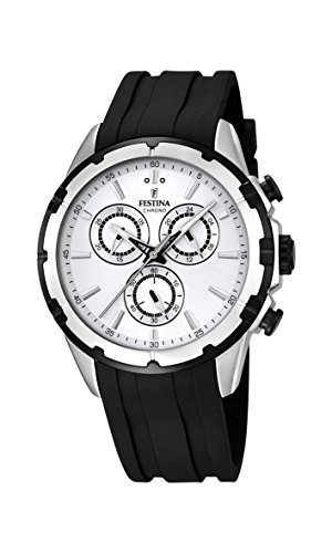 Festina Herren-Armbanduhr Chronograph Quarz Plastik F16838/1 -