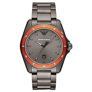 Emporio Armani Reloj Analógico para Hombre de Cuarzo con Correa en Acero Inoxidable AR11178