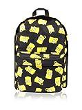 Simpsons Bart Face Children\'s Backpack, 41 cm, Black