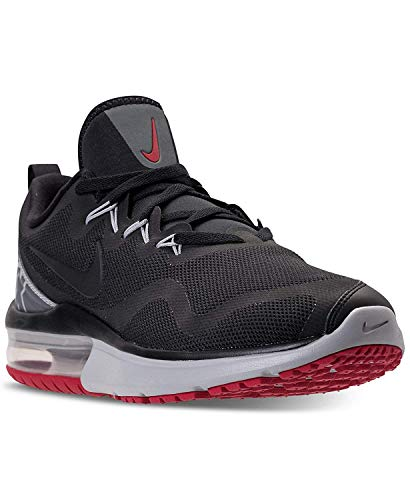 cheaper 8cadd 749e9 Nike Air Max Fury Men s Trainers (9 UK, Black Black Gym Red