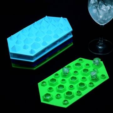 ürfel Eis-Behälter-Form-Schokoladen-Form (Diamant Eis-würfel-behälter)
