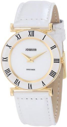 Jowissa - J2.027.M - Montre Femme - Quartz Analogique - Bracelet Cuir Blanc