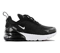 Nike Jungen AIR MAX 270 (PS) Laufschuhe, Schwarz (Black/White/Anthracite 001), 33 EU