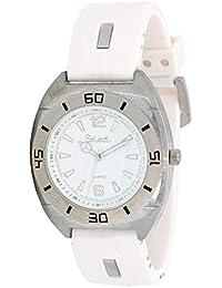 Select Ji-30 Reloj Analogico para Hombre Caja De Metal Esfera Color Blanco
