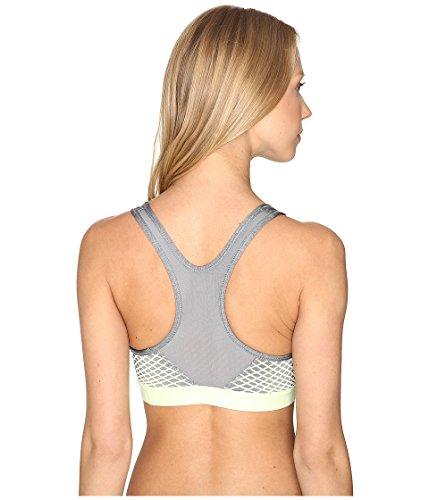 Nike New Pro Hypr CLSC Pad–Brassière de sport pour femme gris (cool grey / barely volt / barely volt)