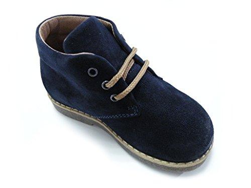 Macho Passos Laços Primeiros Morelli Andrea Azul Sapatos q4wI7XcxU