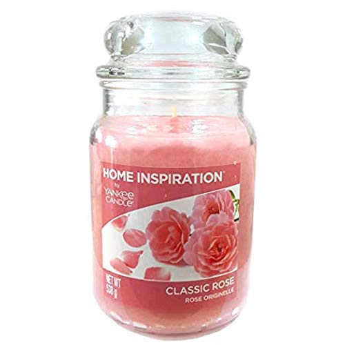 YANKEE CANDLE Offizielles Classic Rose Home Inspiration groß Jar