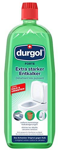 durgol FORTE - Extra starker Entkalker für den Sanitär- und Baubereich - gegen besonders hartnäckigen Kalk & Urinstein - Deutsche Version -1x1000ml