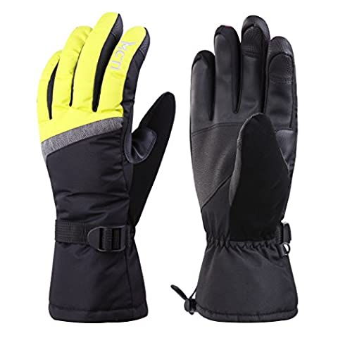 MCTi Touch Screen Women's Winter Ski Snowboard Snowmobile Snow Cycling Warm Gloves Waterproof Thinsulate