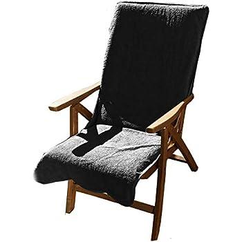 Gartenstuhl Frottee Stuhlauflagen 60 x140 cm große Farben Auswahl NEU