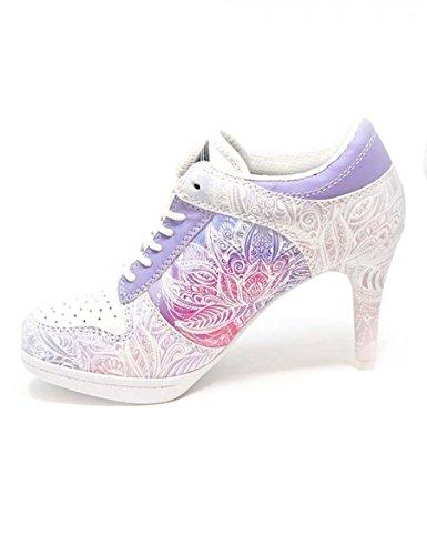 ab076fa0c838aa 10. MISSY ROCKZ Sport High Heels Wonderful Lotus White Purple