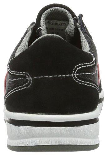 Maxguard  SKINNER, Chaussures de sécurité mixte adulte Noir - Noir