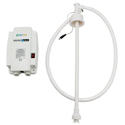 LIYUAN Flaschenwasser-System-Wasser-Pumpen-Flaschen-Wasser-elektrisches Abgabepumpensystem mit einzelnem Einlass 110V US-Stecker für Kaffee-Brauereis-Hersteller (neue Pumpe)