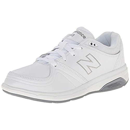 New Balance Women's WW813 Walking Lace Shoe, White, 10 D US
