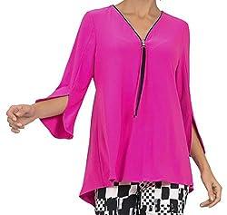 Joseph Ribkoff Women's Top Style 191143 Neon Pink