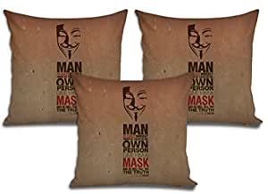 Sleep Nature's Cushion Covers Set of 3 (16x16 inch)