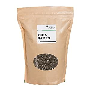 Vitafy Essentials Superfood Chia Samen, 1er Pack (1 x 1000g)