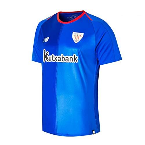 New Balance AC Bilbao Segunda Equipación 2018-2019 Niño, Camiseta, Azul, Talla LB