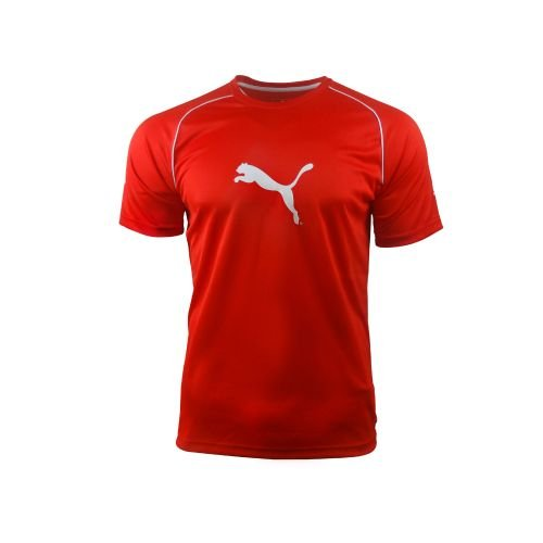 Puma Kinder Maillot Junior Ringer T-Shirt, Rot, S