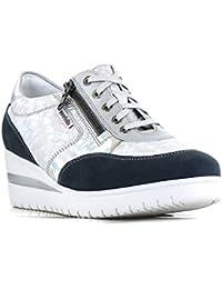 Mephisto Mobils By Patrizia Sneakers Donna Stringate Bucksoft 6945 Navy con  Plantare Estraibile 54e64b67733