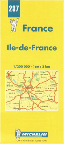 Carte routière : Île-de-France, N° 237
