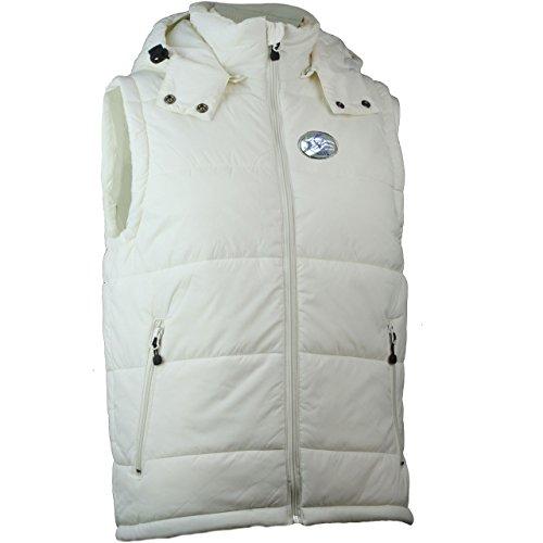 Raven veste sans manches pour homme avec logo sur base jN1004 Blanc - Blanc cassé