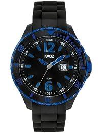 KA:OZ A62109-1SS5I - Reloj para hombres, correa de silicona color negro