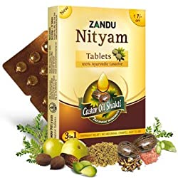 Zandu Nityam Tablet 12 Tablets Pack of 5