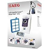 AEG AUSK 9 - Juego de recambios para aspirador Ultra Silencer (4 bolsas de larga duración, filtros Hepa-13, filtro para motor, s-fresh)