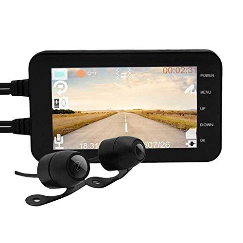 6.6 - Video (TEEPAO Motorrad Armaturenbrett-Cam, WiFi 1080P HD Dual Linse Motorrad Fahren Recorder Wasserdicht Bildschirm 140° Winkel Halterung für Foto Video Aufnahme - 11,9 x 6,6 Zoll)