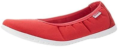 Drees, Womens Ballet Flats, Red (311/Rot), 6 UK (39 EU) Giesswein