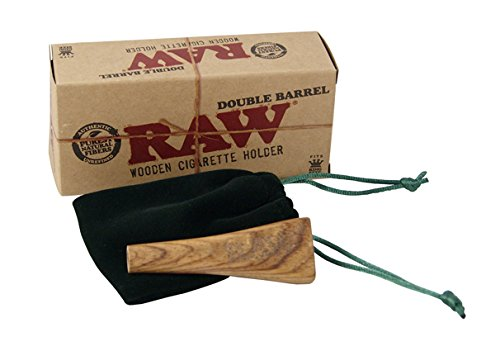 raw-double-barrel-2-compartimento-encendedor-de-soporte-joint-soporte-de-madera-autentica-joint-ciga