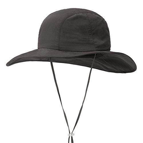 belüftet Bucket Breite Krempe Sombriolet Sun Hat Safari Hat-Sun Schutz UPF 50+, coffee ()