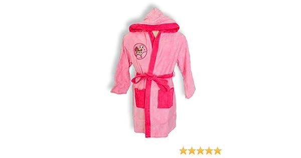 LOL Peignoir Licorne Couleur Rose Fille Tailles 3//4-5//6-7//8-9//10 Ans