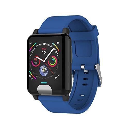 Mode Fitness Tracker | E04 ECG+PPG Smartwatch mit Herzfrequenz-Messgerät, Aktivitäts Schrittzähler, Kalorie | Intelligentes Gesundheitserinnerung | Fitness Uhr für Android und IOS | Damen Herren (Activity Monitor Baby)