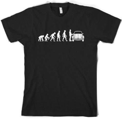 evolution-of-man-herren-kafer-t-shirt-schwarz-medium