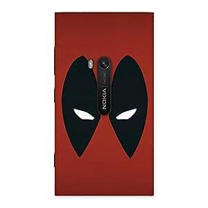 Impressive Red Dead Black Eye Back Case Cover for Lumia 920