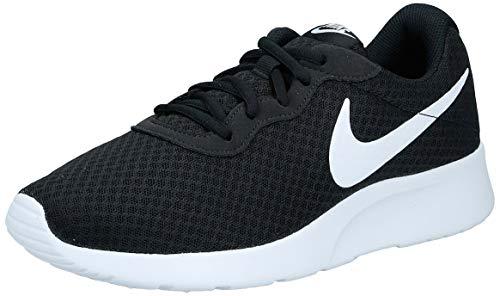 Nike Damen Tanjun Laufschuhe, Schwarz (Schwarz/Weiß), 42 EU