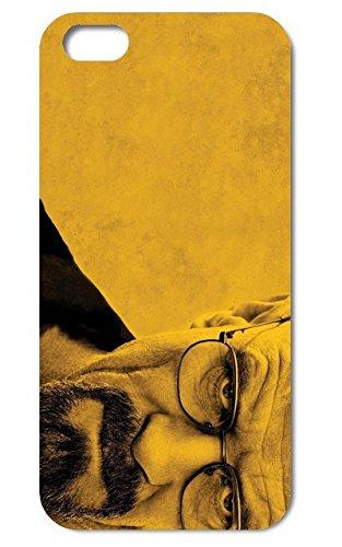 NdB 1354 - Cover Case Custodia per iPhone 5 e 5S Stampa Walter White Heisenberg Nera BrBa - Rigida