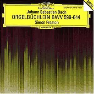 Orgelbchlein Bwv 599-644