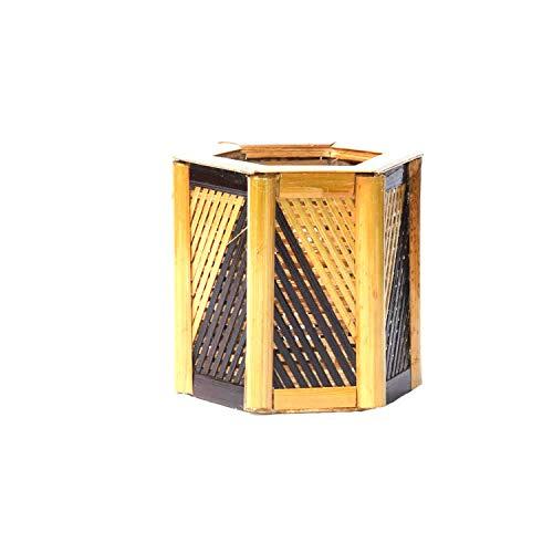Wood Teak Premier Housewares Rounded Serving Bowl 25 x 25 x 10cm Brown