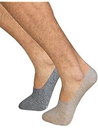 Calcetines invisibles de algodón para hombre DIM (pack x2) (39/42,